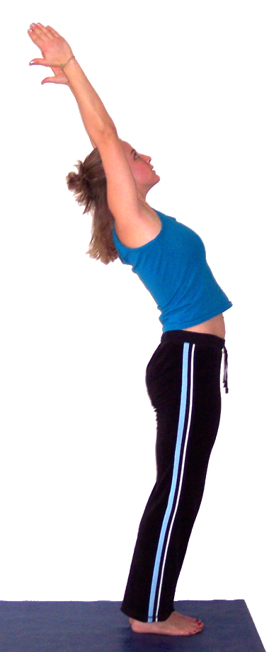 standing arch pose