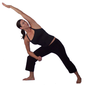 optimal leg work and knee alignment in yoga poses
